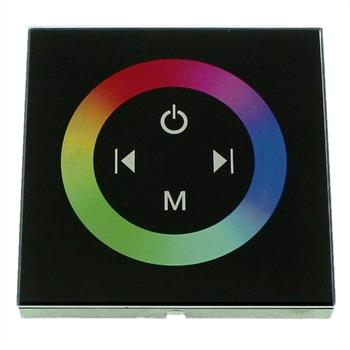 RGB Touch Panel Controller schwarz 4Key