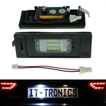 LED license plate light suitable for BMW 1 E81, 6 E63, Z4 E85 Mini Clubman