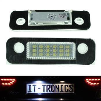 Kennzeichenbeleuchtung LED passend für Ford Fiesta 5, Fusion, Mondeo II