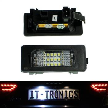 LED license plate light suitable for BMW 1, 3 E90-93, 5 E39, E60/E61, X5, X6