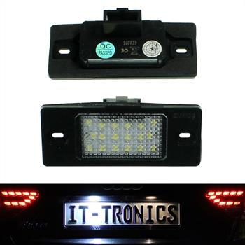 LED license plate light suitable for VW Golf 5 Variant, Passat Variant
