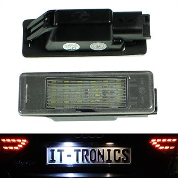 LED license plate light suitable for Peugeot