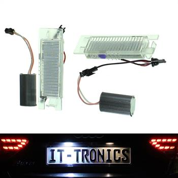 LED license plate light suitable for Opel