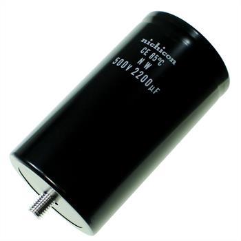 Schraub Elko Kondensator Radial 2200µF 450V 85°C LNW2H222MTEBNU d76,2x143mm 2200uF