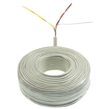 100m telephone cable 2x2x0,6mm JYSTY - 4 wires - telecommunication cables