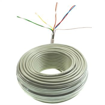 50m telephone cable 4x2x0,6mm JYSTY - 8 wires - telecommunication cables