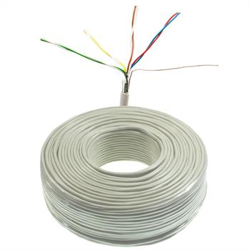 100m telephone cable 4x2x0,6mm JYSTY - 8 wires - telecommunication cables