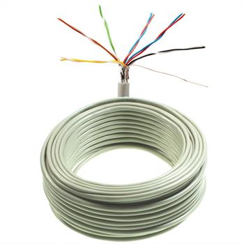25m telephone cable 6x2x0,6mm JYSTY - 12 wires - telecommunication cables