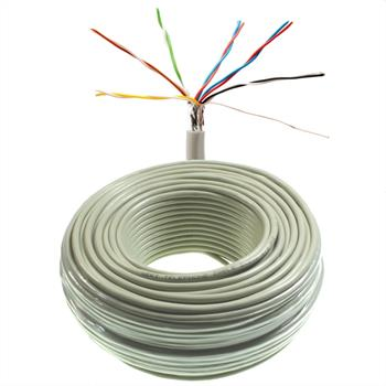 50m telephone cable 6x2x0,6mm JYSTY - 12 wires - telecommunication cables