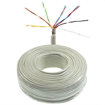 100m telephone cable 6x2x0,6mm JYSTY - 12 wires - telecommunication cables