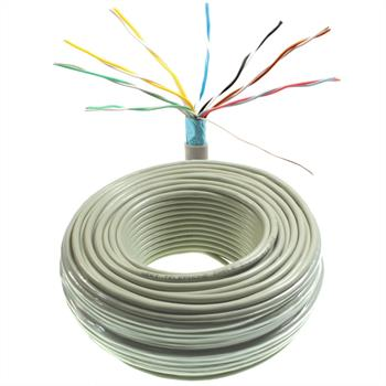 50m telephone cable 8x2x0,6mm JYSTY - 16 wires - telecommunication cables