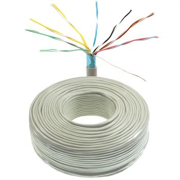 100m telephone cable 8x2x0,6mm JYSTY - 16 wires - telecommunication cables