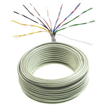 25m telephone cable 10x2x0,6mm JYSTY - 20 wires - telecommunication cables