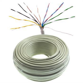 50m telephone cable 10x2x0,6mm JYSTY - 20 wires - telecommunication cables
