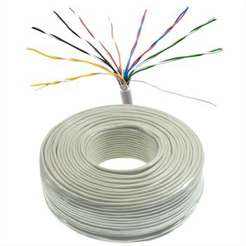 100m telephone cable 10x2x0,6mm JYSTY - 20 wires - telecommunication cables