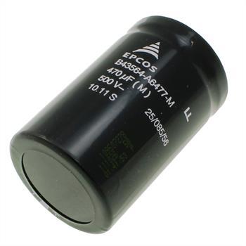 Schraub-Elko 470µF 500V 85°C 50x80mm