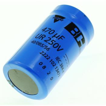 Screw-Electrolytic Capacitor 470µF 250V 85°C ; 222210213471 ; 470uF