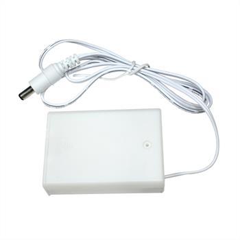Batterie Box für 5V LED-Streifen -> DC-Stecker 5,5/2,1mm ; 3x AA Batterie 4,5V