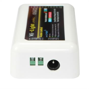 MiLight RGBW LED 4-Zone Receiver WiFI + RF 2,4GHz Controller