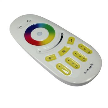 MiLight RGB RGBW LED Fernbedienung Touch 4-Zone 2,4GHz Weiss RGB+W
