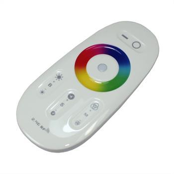 Milight RGBW LED Touch RF Controller Weiß 12...24V 240W für Farbwechsel Streifen 5-Pin
