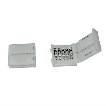 Connector for RGBW RGB+W 12mm LED Strip Strips ; 1x Clip