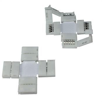 Connector for RGBW RGB+W 12mm LED Strip Strips ; + connector