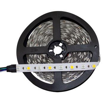 RGBW RGB+W 3000K LED Strip 500cm 5m ; 24V IP20 300LEDs 5050