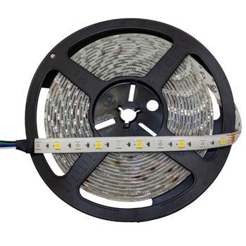 RGBW RGB+W 3000K LED Streifen Band Leiste 5m ; 24V IP65 300LEDs 5050