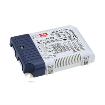 LED power supply dimmable 0-10V / PWM ; MeanWell, LCM-40 ; Constant current
