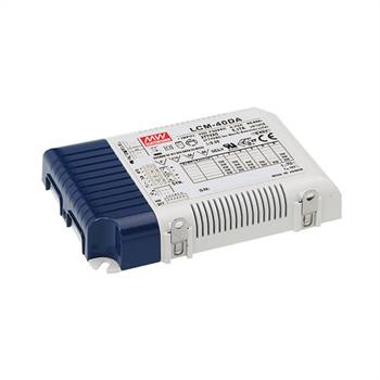 LED power supply dimmable DALI ; MeanWell, LCM-40DA ; Constant current