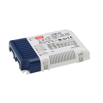 LED power supply dimmable 0-10V / PWM ; MeanWell, LCM-60 ; Constant current