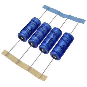 Elko Kondensator axial 470µF 16V 85°C ; 222213225471 ; 470uF