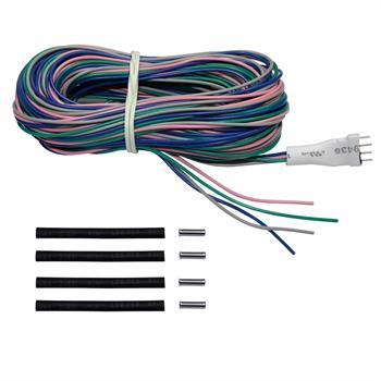 Connection cable for RGB LED tile spacers - Length: 5m