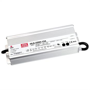 LED power supply 320W 24V 13,34A ; MeanWell HLG-320H-24A Switching power supply