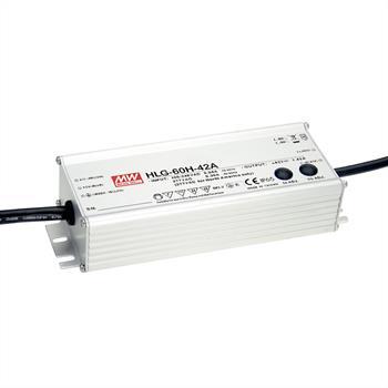 LED Netzteil 62W 48V 1,3A ; MeanWell HLG-60H-48A ; Schaltnetzteil