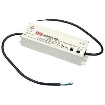 LED Netzteil 60W 12V 5A ; MeanWell HLG-80H-12B ; dimmbar 1-10V PWM