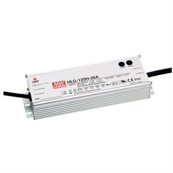 LED power supply 120W 24V 5A ; MeanWell HLG-120H-24A ; Switching power supply