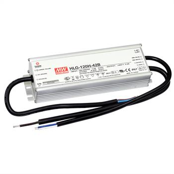 LED power supply 120W 24V 5A ; MeanWell HLG-120H-24B ; dimming function
