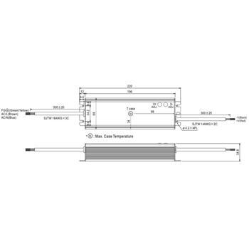 HLG-120H-36A 122W 36V 3,4A LED Netzteil IP65