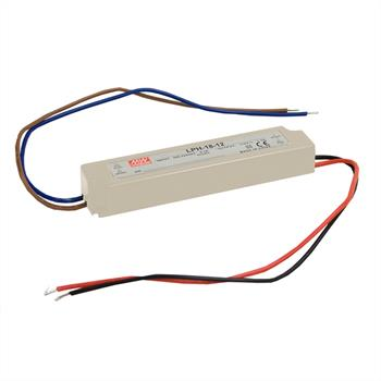 LED power supply 18W 12V 1,5A ; MeanWell LPH-18-12 ; Switching power supply