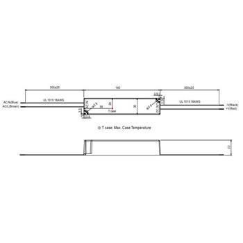 LED Netzteil 18W 12V 1,5A ; MeanWell LPH-18-12 ; Schaltnetzteil