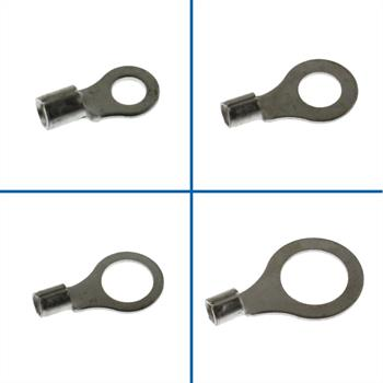 25x Crimp Terminal Uninsulated 4,0-6,0mm² ; Tube Lug