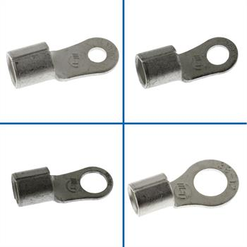10x Crimp Terminal Uninsulated 30-50mm² ; Tube Lug