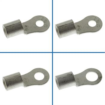 10x Crimp Terminal Uninsulated 50-70mm² ; Tube Lug