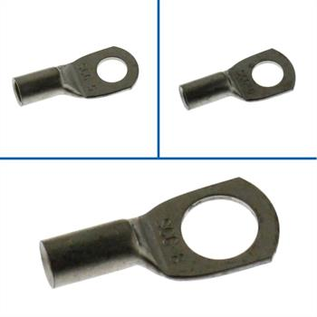 10x Tube Crimping Lug Uninsulated 6mm² ; Tube Terminal