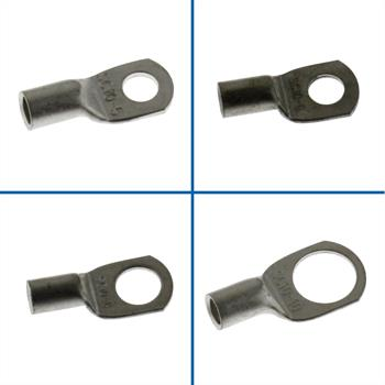 10x Tube Crimping Lug Uninsulated 10mm² ; Tube Terminal