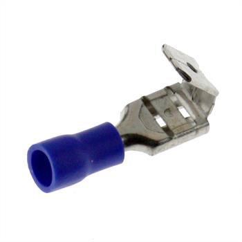 25x Flachsteckhülse mit Abzweig 1,5-2,5mm² blau ; für Flachstecker