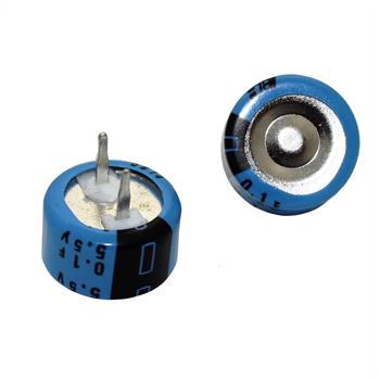 Goldcap Kondensator 0,10F 0,1F 5,5V ; RM5 d12,5x7mm ; MAL219612104E3