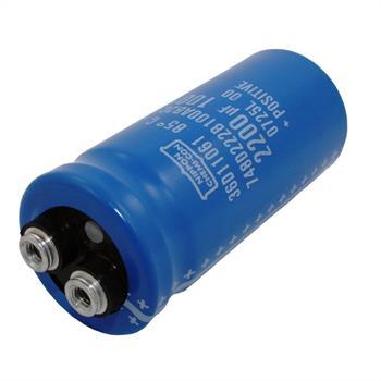 Schraub Elko Kondensator 2200µF 100V 85°C ; E36D101HLN222QA80M ; 2200uF